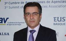 El presidente de AVIBA, Toni Abrines.