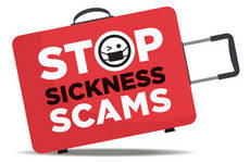ABTA ha puesto en marcha la campaña 'Stop Sickness Scams'.