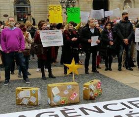 Las agencias reúnen 1.000 agentes en Barcelona