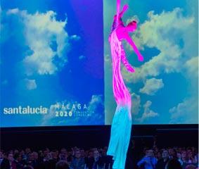 Acciona Producciones y Diseño organiza una convención de Santalucía en Málaga