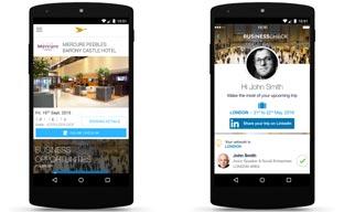AccorHotels y LinkedIN crean un nuevo servicio móvil