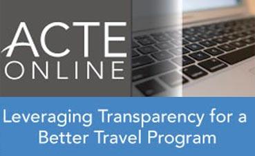 ACTE organiza un 'webinar' sobre transparencia