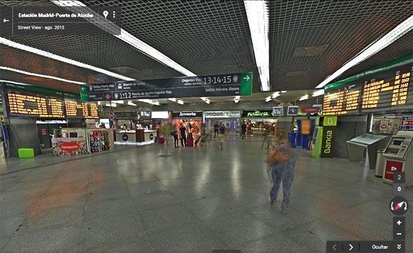 Adif muestra en Google Street View algunas estaciones de tren