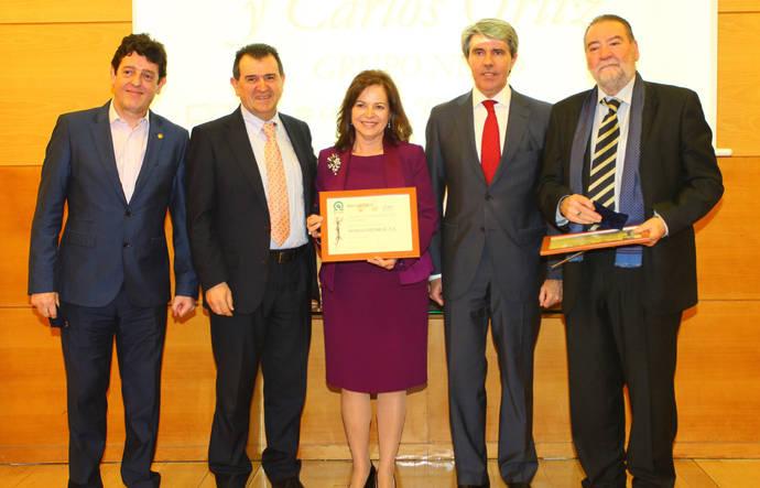 Editores del Año: Eugenio de Quesada, Carlos Ortiz y Matilde Peregrí