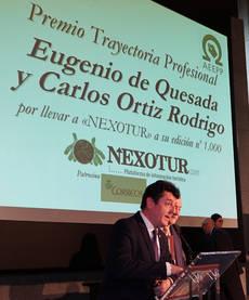 Eugenio de Quesada interviene en la Gala de Premios a los Editores del Año.