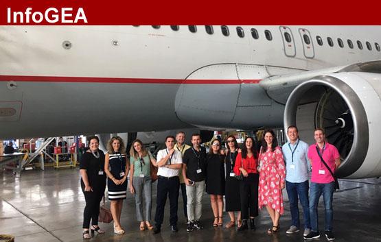 GEA participa en el aniversario de Aegean Airlines
