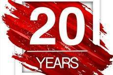 Felicidades a Aegve por sus dos décadas.