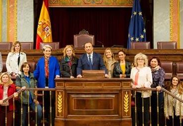AEGVE visita el Congreso de los Diputados