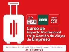 Título de experto de Travel Manager de Aegve y la Uned
