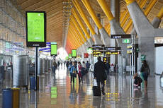Los aeropuertos de Aena reciben un 9% más de viajeros