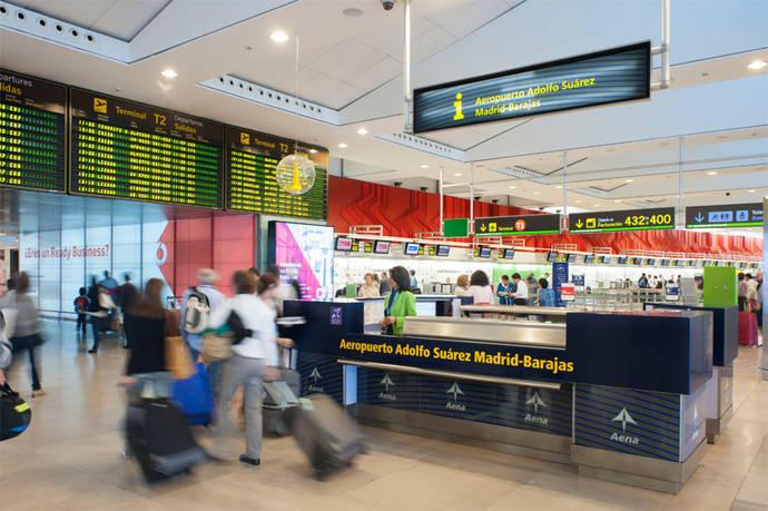 Los pasajeros de Aena caen un 83% en enero