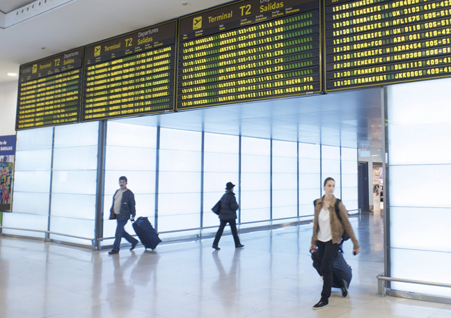 Los aeropuertos de Aena encadenan dos años positivos