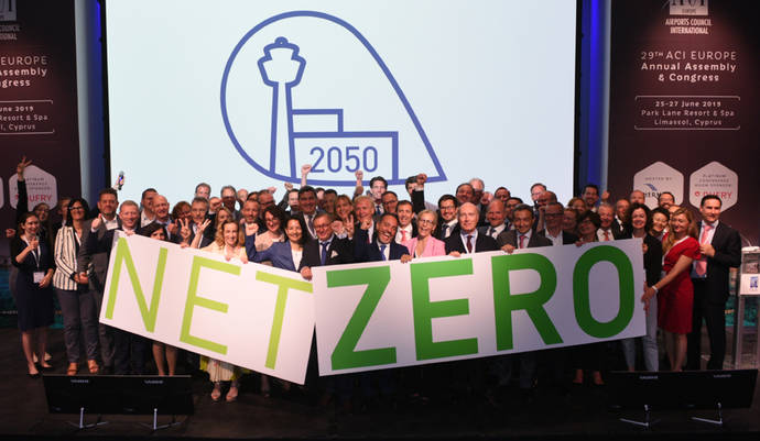 Aena se une al proyecto contra el cambio climático