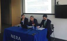 Acto de presentación del informe elaborado por Nera Economic Consulting.
