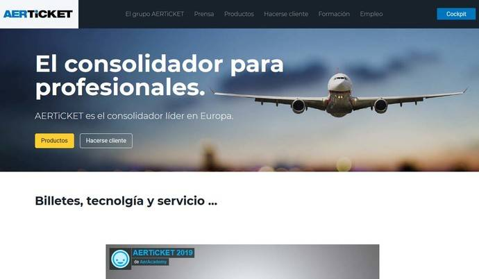 Aerticket ya ha implementado Cockpit en 50 países