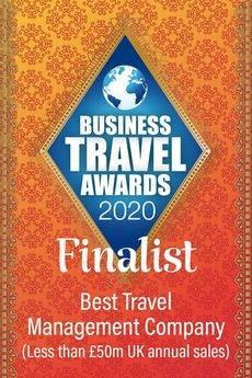 Aervio es finalista en los Business Travel Awards