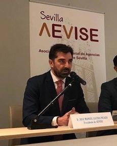 El presidente de AEVISE, José Manuel Lastra.