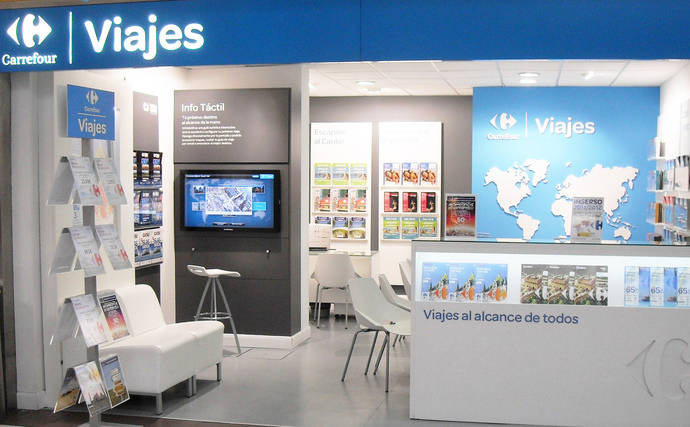 Carrefour, única gran red de agencias sin turoperador, no tiene planes al respecto