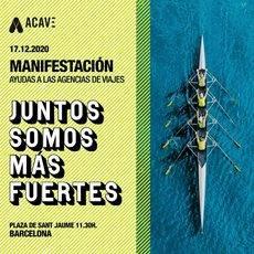 Imagen del cartel de ACAVE.