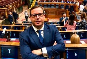 Agustín Almodóbar es elegido nuevo portavoz de Turismo del PP en el Congreso