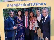 El equipo de AIM Group International.