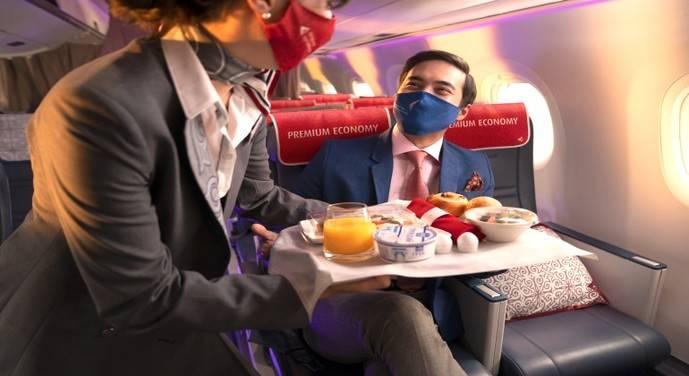 Air Astana presenta su nueva Premium Economy Class en los aviones Embraer 190-E2