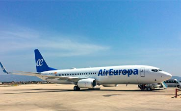 Air Europa incorpora Wi-Fi en su media distancia