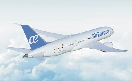 Air Europa ofrece Wi-Fi en su flota de larga distancia