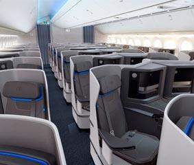 Air Europa presenta la nueva clase Business de los Dreamliners