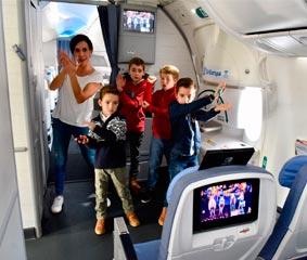 Los pasajeros de Air Europa pueden disfrutar esta semana del juego Just Dance