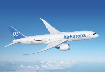 Air Europa lanza descuentos para volar en 2021