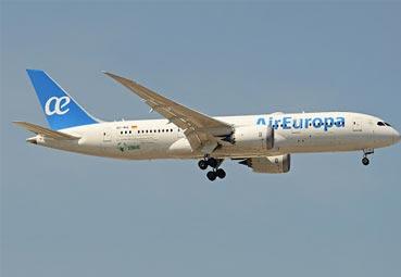 Air Europa sigue con su ambiciosa campaña de precios