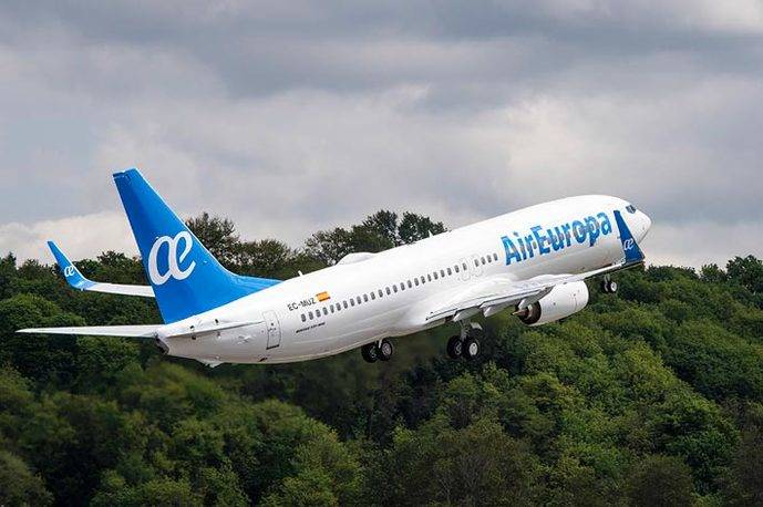 Los pilotos de Air Europa piden no dormir en Venezuela