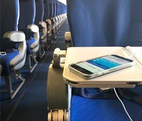 Air Europa instala cargadores de puerto USB en su flota Airbus 330