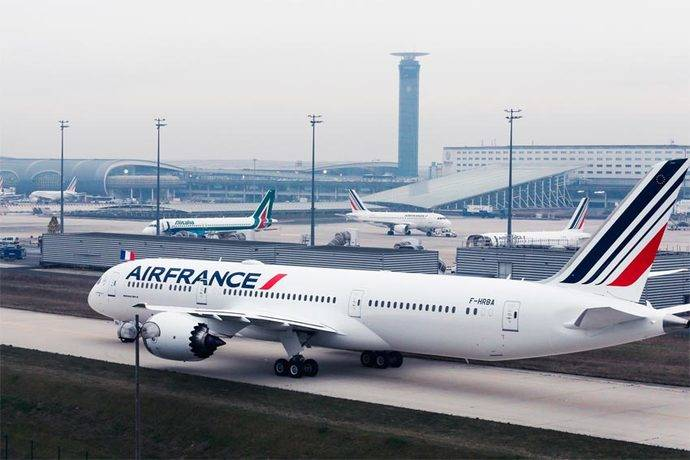 Air France KLM gana más del doble que en 2017