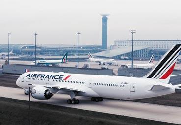 Gran caída del beneficio neto de Air France KLM