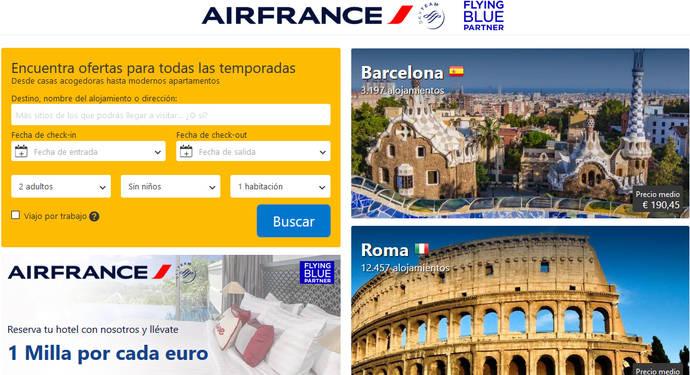 Air France se suma a la creciente lista de aerolíneas que ofrecen más que vuelos