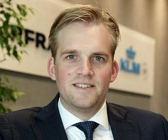 Wouter Alders, director comercial de Air France KLM