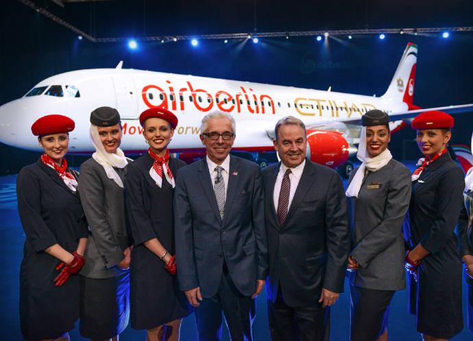 Luz verde al acuerdo entre Etihad Airways y airberlin