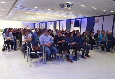Gran reunión nacional en Madrid de Airmet y Cybas
