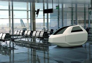Crean una cápsula para el trabajo en aeropuertos