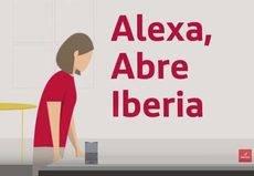 Los titulares de Iberia Plus hacer el 'check-in' en Alexa