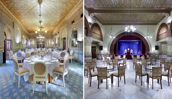 Excelencia MICE del cinco estrellas Alhambra Palace