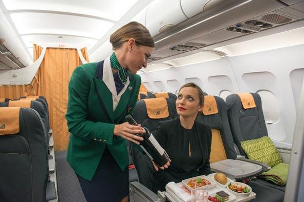 Alitalia renueva el interior de su flota de media distancia