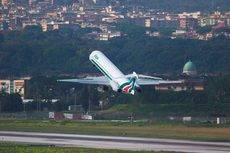 Un avión de la compañía italiana.