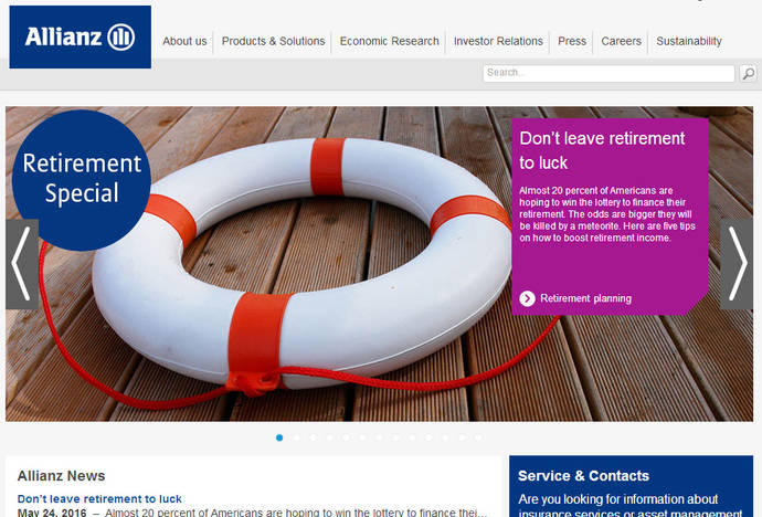 La división de viajes de Allianz factura un 19% más en 2015