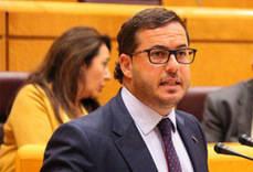 El portavoz de Turismo del PP en el Congreso, Agustín Almodóbar.