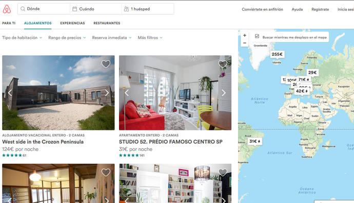 'Portales' y OTAs avanzan en el alojamiento privado