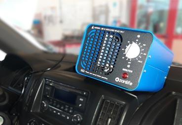 Alquiber toma medidas sanitarias en sus vehículos
