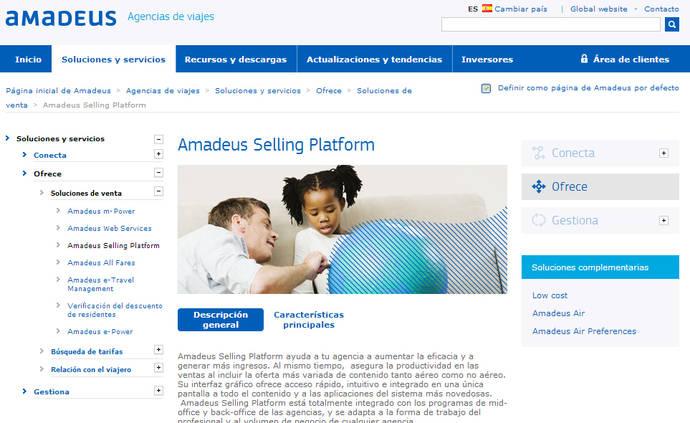 Amadeus ofrece nuevos servicios adicionales al agente